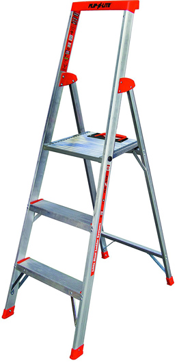 Flip-N-Lite 300-Pound Step Ladder