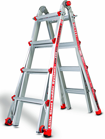 Little Giant Model 17 250-Pound Step Ladder