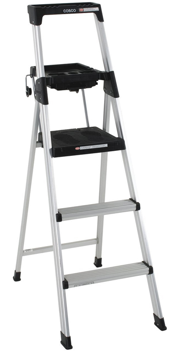 Cosco 20-502ABL 5-Foot Aluminum Step Ladder
