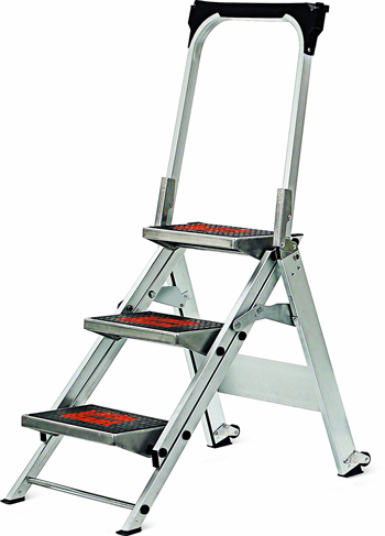 Little Giant Three-Step Aluminum Ladder