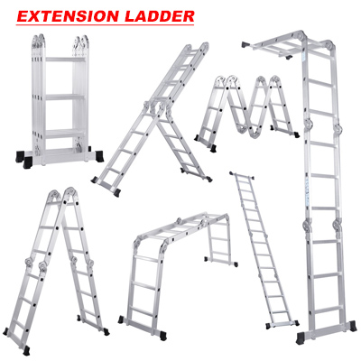 what are the different types of ladders and how to use their