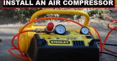 Install an Air Compressor