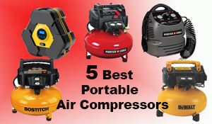 5 Best Portable Air Compressors