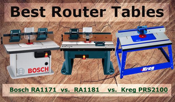 Bosch RA1171 vs. RA1181 vs. Kreg PRS2100