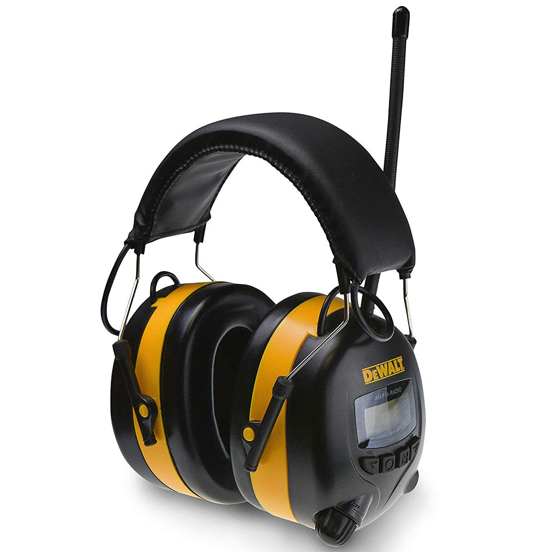 DEWALT DPG 15 DIGITAL AM FM HEARING PROTECTOR