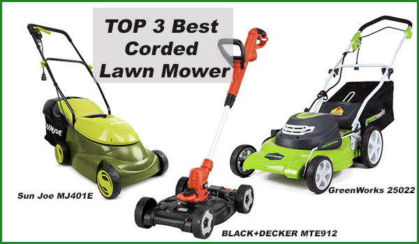Best Corded (Electric) Lawn Mower