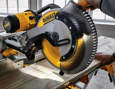 Cutting Precision Improvement Dewalt