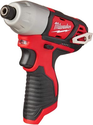 Milwaukee 2462-20 M12 1/4 Inch Hex Shank 12 Volt Lithium-Ion Cordless Impact Driver