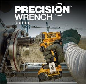 Precision Drive mode Dewalt