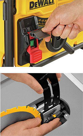 Dewalt dwe7485 Safety Systems