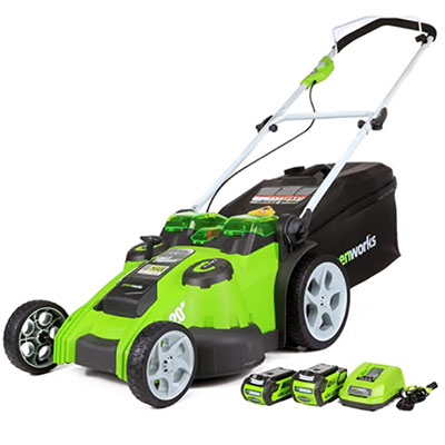 Greenworks 40V 20-Inch Twin Force