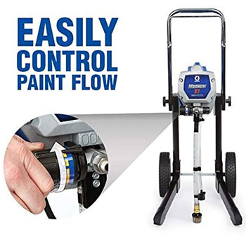 control paint flow Graco X7