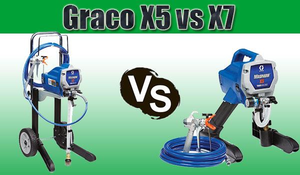 Graco X5 vs X7
