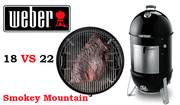 Weber Smokey Mountain 18 vs 22 small