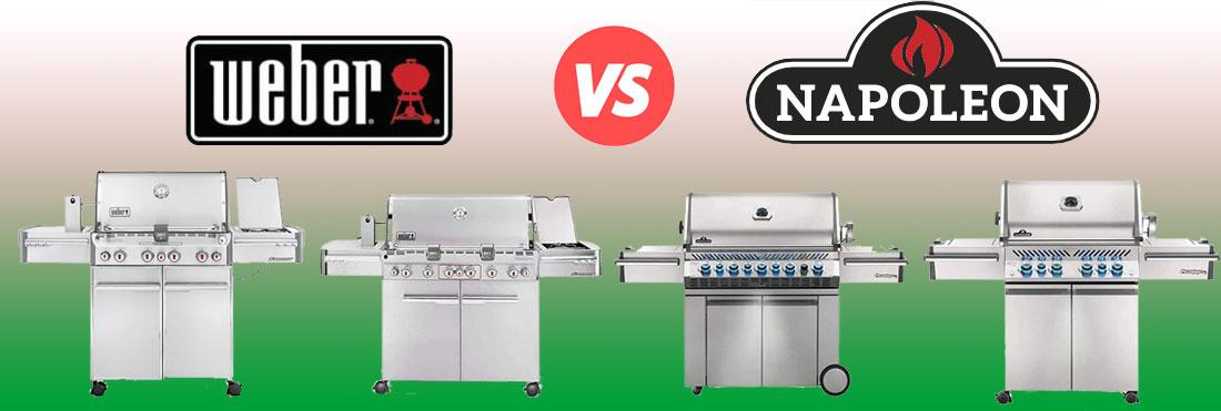 Weber Summit vs Napoleon Prestige PRO: Battle of the Best Grills