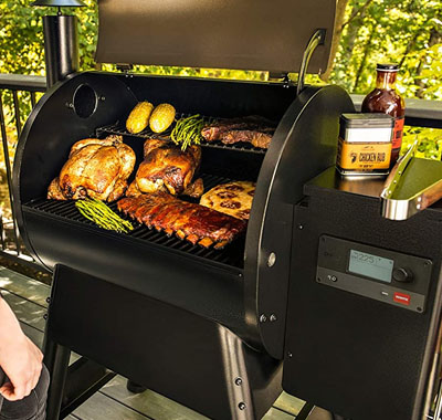 Cooking Area Traeger Pro Series 575