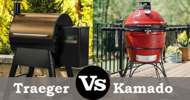 Traeger vs kamado