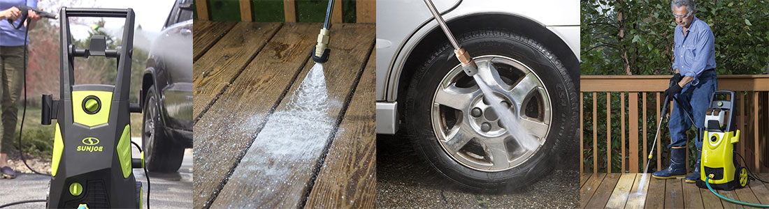 Ease of Use pressure washer